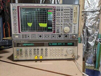 Rohde Schwarz Fseb20 9khz To 7ghz W Opt. B7 Vsa B15 Comp Cont.