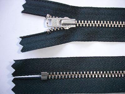 RV 272 Reißverschluß YKK antrazith 19cm, nicht teilbar 2 Stück