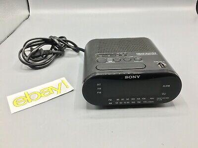 Sony Dream Machine  #ICF-C218 Auto Time Set Dual Alarm AM/FM Alarm Clock Radio