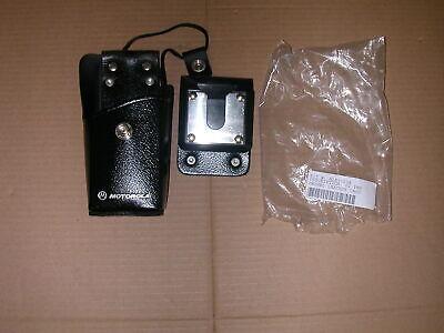 Motorola Hln9323a Leather Swival Radio Case Holster P1225 Gp300 Gp350