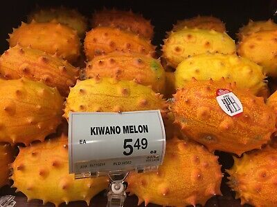 Certified Organic Vegetable Seeds (USA 30+ certified organic KIWANO JELLY MELON seeds African Horned Melon Cucumber )