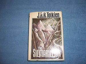 THE-SILMARILLION-by-J-R-R-Tolkien-1st-Ed-10th-Prt-HCDJ-Literature-Adventure