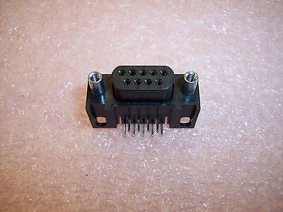 Qty 10 Amp 745395-1 9 Position D-sub Ra Pcb Mount Pc Tail Terminal Db-9 Nos