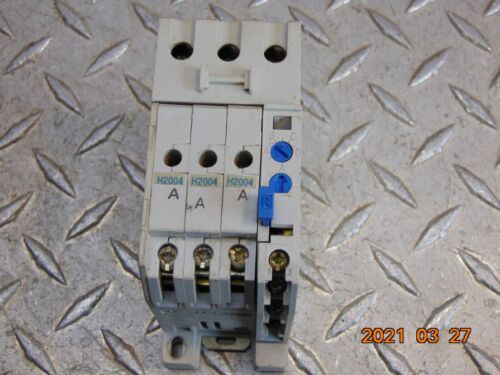 CUTLER HAMMER C306DN3 OVERLOAD RELAY A1 w C306TB1 ADAPTER & (3) H2004 HEATERS