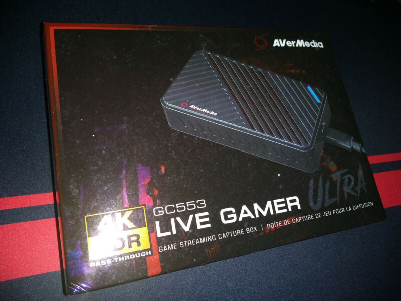 AVerMedia GC553 Live Gamer Ultra Capture | Barely Used (few hours)