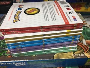 Set of 10 Pokémon adventures special edition xy menga