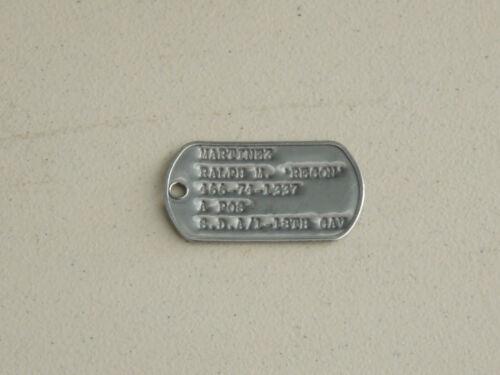 Vintage U.S. Military Dog Tag