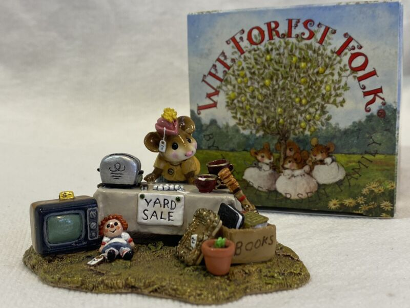 Wee Forest Folk WFF M-202 Yard Sale handmade retired