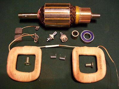 Delco Generator 1100443 Field Coil Armature Case 430 480 530 580 Tractor 12 Volt