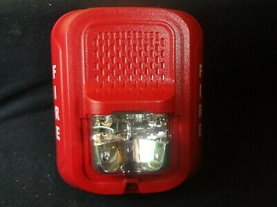 System Sensor Srl Red Wall Mount Strobe Fire Alarm Free Shipping