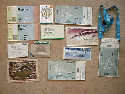 ticket swimming fina world championships 30/7/09 in rome stub still attached