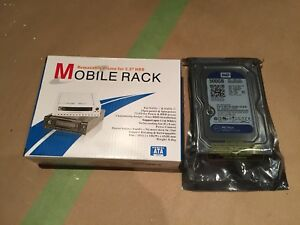 500 GB SATA Drive With Removable Rack FACTORY SEALED