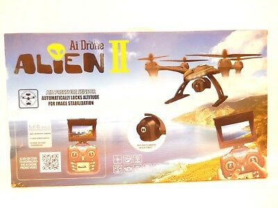 SEALED NEW IN BOX   $199.99    Ai Drone Alein II No. 506G 2.4GHz HD Camera