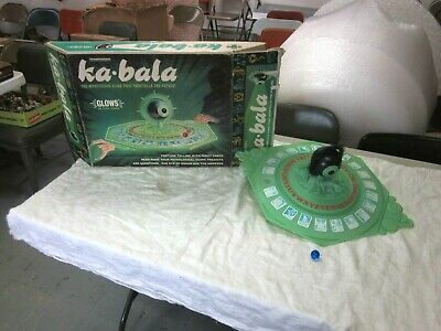 Fortune Teller Games (TRANSOGRAM Ka Bala Fortune Teller Board Game Glow in Dark 1967 Ouija 95%)