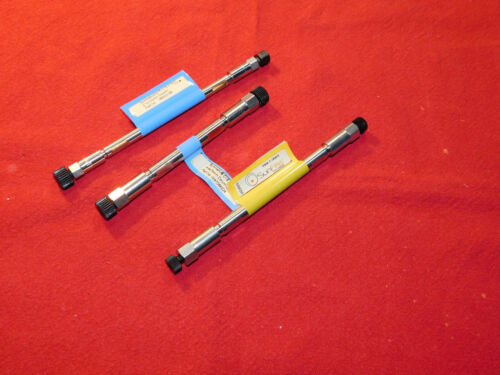 Lot of 3 Waters C18, 100mm and 75mm HPLC column