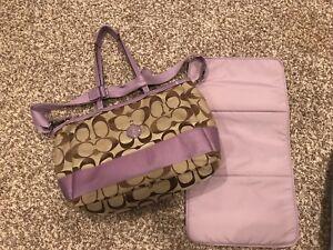Coach Diaper bag and Coach large bag