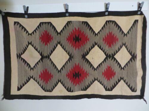 "Vintage Native American Indian blanket 55""x 34"""