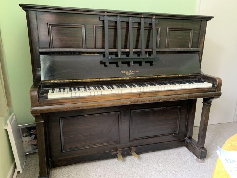 Squire & Longson Upright Piano