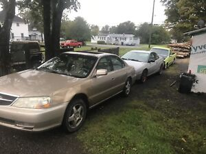 Wanted second gen Acura TL parts