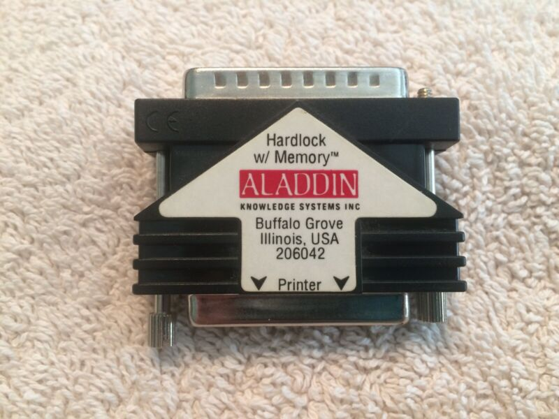 Aladdin SafeNet Hardlock w/ Memory Dongle For Proview Parallel Printer Free Ship