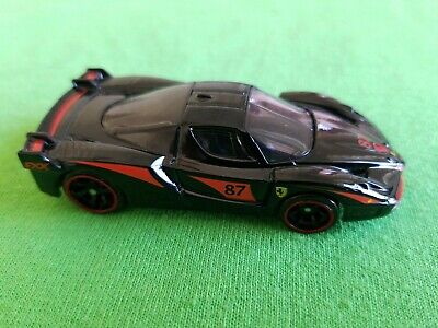 2010 Hot Wheels Speed Machines FERRARI FXX Black LOOSE