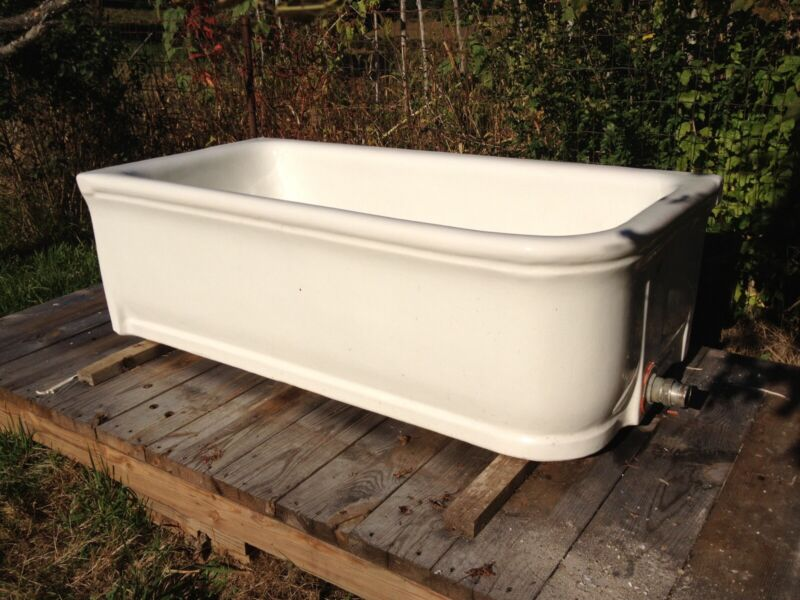 Antique Earthenware Tub