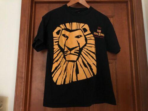 Disney's The Lion King Broadway show black T-shirt adult size medium M men women