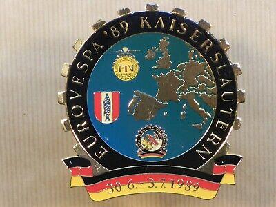 Vespa 1989 EuroVespa Badge