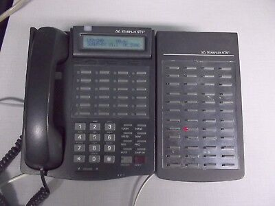 Vodavi Vertical Starplus Sts 3515-71 24-button Display Phone W 3510-71 Dss Unit