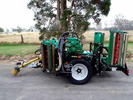 Ransomes HYD 4650 TG Gang/Reel/PTO/Finishing/Turf/Tractor/Mower