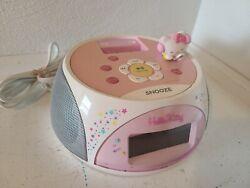 Vintage Hello Kitty iPod iPhone Dock Alarm Clock Radio Speaker KT4560 30 Pin