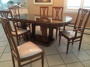 Salle à dîner Style Italienne Laque