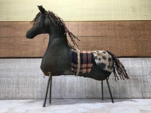 Handmade Primitive Appaloosa Horse, Appaloosa Horse Decor, Primitive Horse