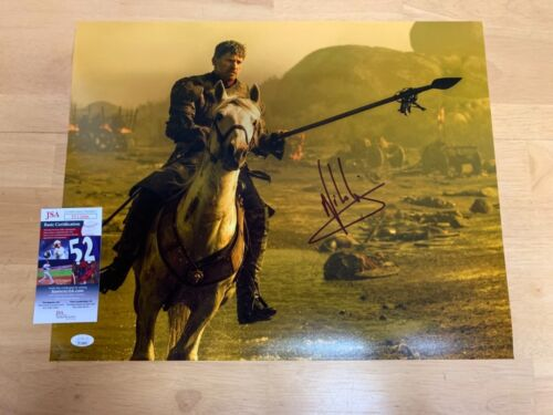 Nikolaj Coster-Waldau Jaime Lannister Game of Thrones Autograph 16x20 Photo 2