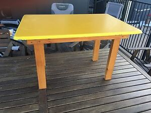 Kids Play Table/Drawing/Painting/Playdoh. Sturdy Base, Easy  Clean Top Albany Creek Brisbane North East Preview