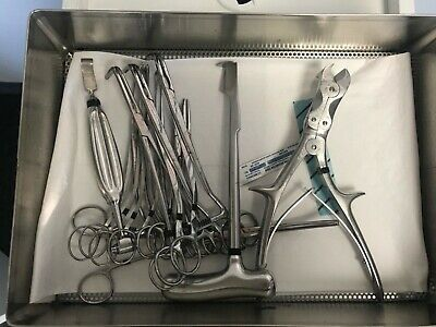 Thoracotomy Extra Instruments Medical Surgical Instrument Tray