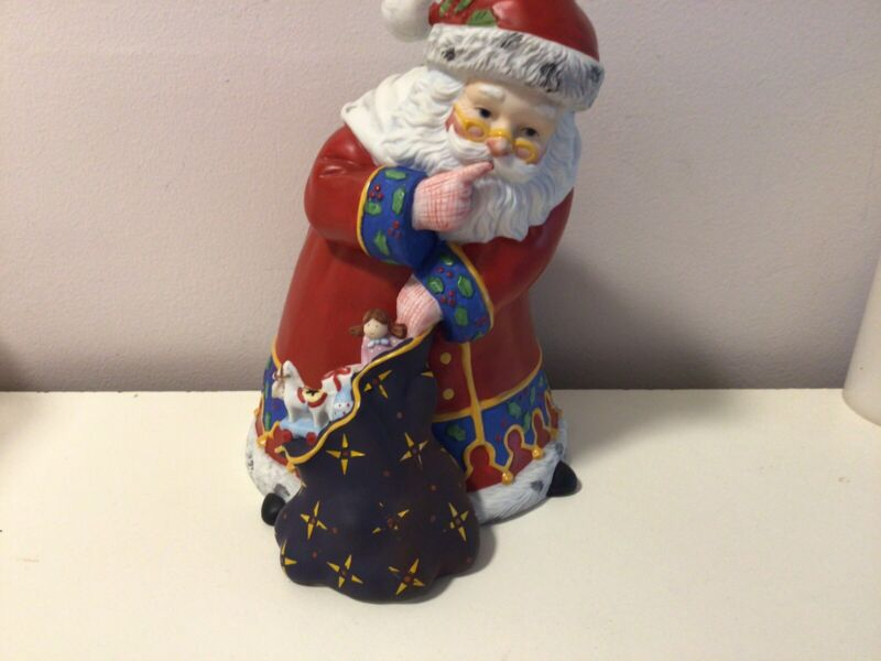 Vintage Hallmark 1992 Mary Engelbreit The Wonder of Christmas Santa w/Sack LE