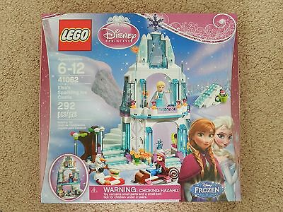 New LEGO FROZEN Disney Princess 41062 Elsa's Sparkling Ice Castle Free Shipping!