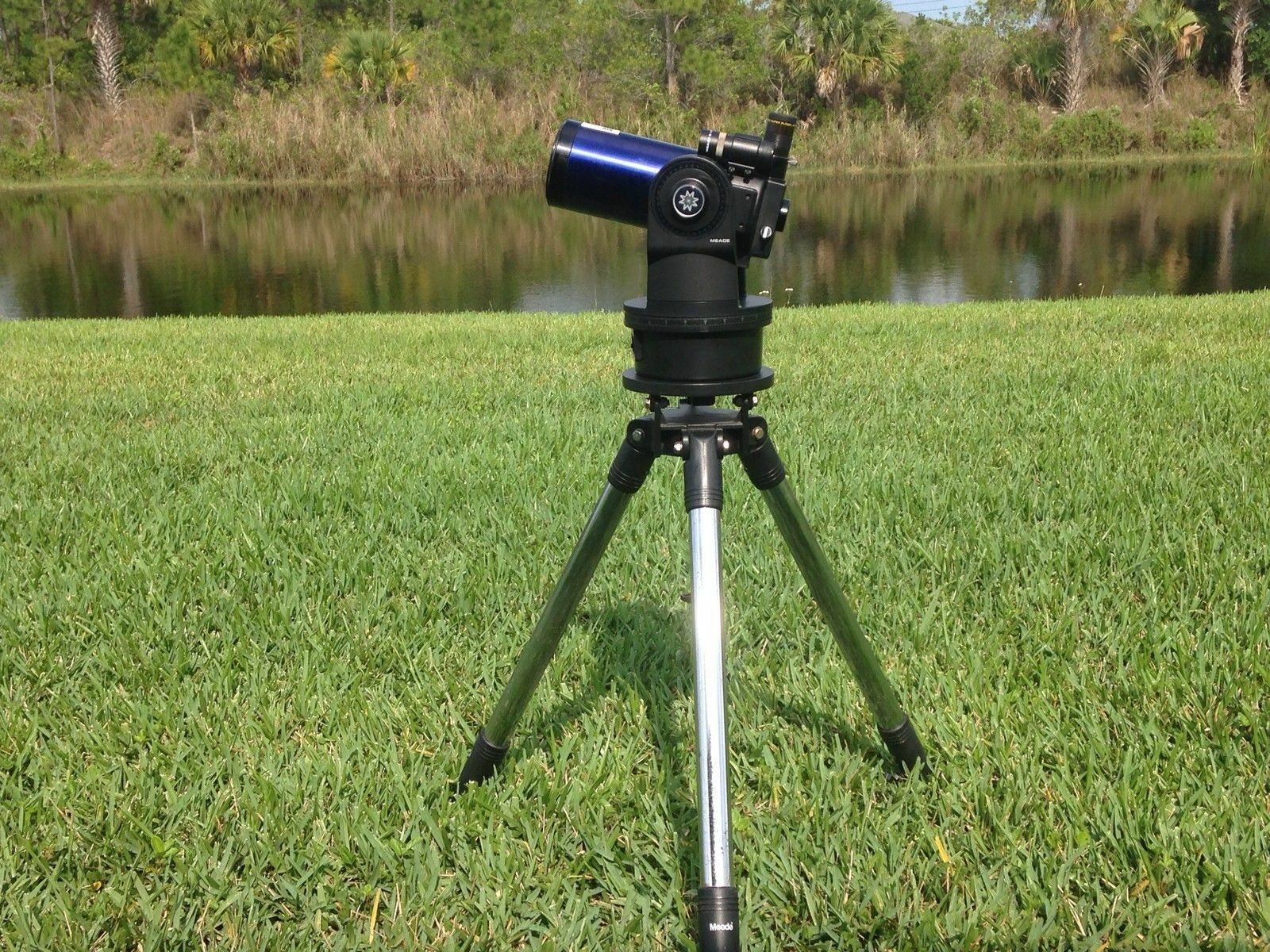 how to set up a meade telescope ebay