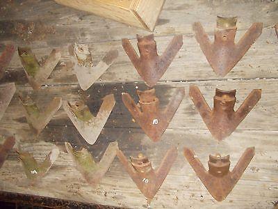Jd John Deere Farmall Ih Ac Ford Allis Oliver 5 Cultivator 10 Shovels Sweeps