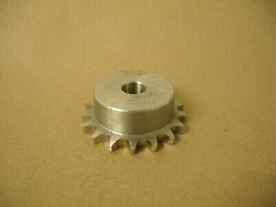 40b17ss Sprocket 58 Bore Stainless Steel