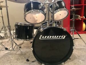 Ludwig 5 piece Junior Drum Set