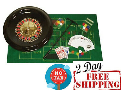 Spinning Roulette Wheel ( Deluxe Roulette Wheel Spinning Set with Accessories Stamped Numbers 16-Inch   )