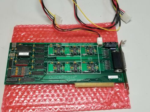 Microkinetics Quickphase Precision Stepper Motor Controller PC Card