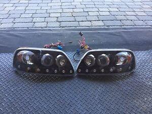 Set de lumière avant pour camion