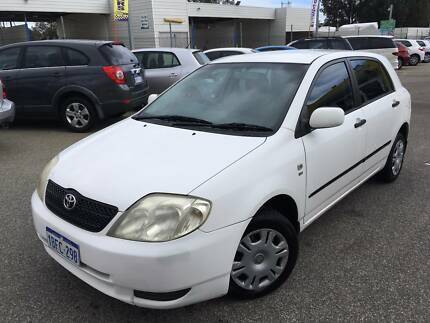 2002 Toyota Corolla Ascent Manual Hatchback $2699