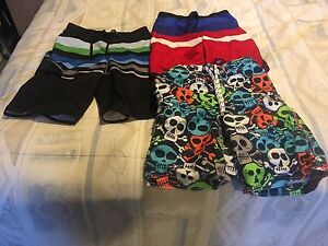 Boys size 10 swimming suits