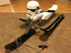 Brand New -Star Wars Storm Trooper  snow racer (steering sleigh)