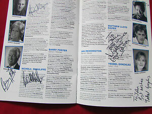 Blue-Murder-RICHMOND-Theatre-1996-Original-Multi-Signed-Programme-SEE-PICTURES