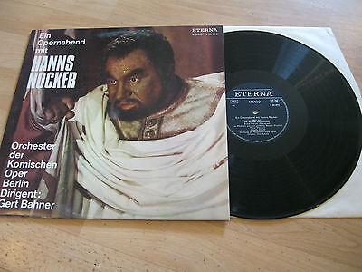 LP Hanns Nocker Opernabend Gert Bahner  ETERNA DDR Vinyl 826293